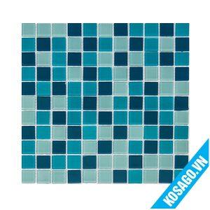 báo giá gạch mosaic màu xanh dương