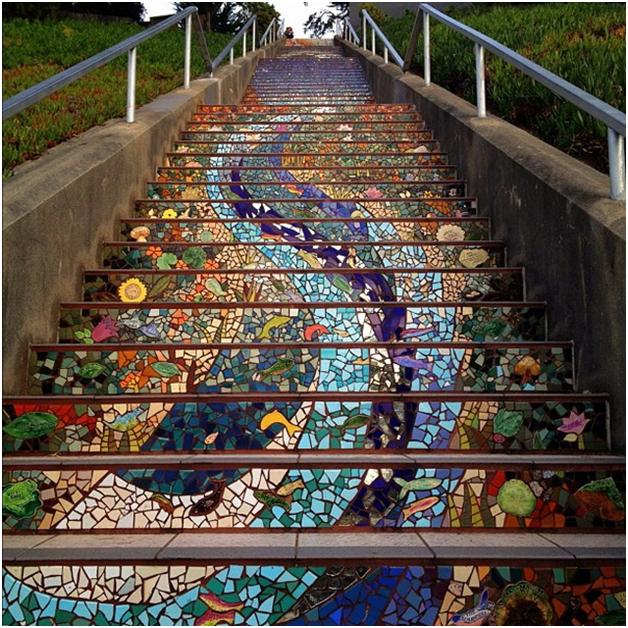 Mosaic đường phố