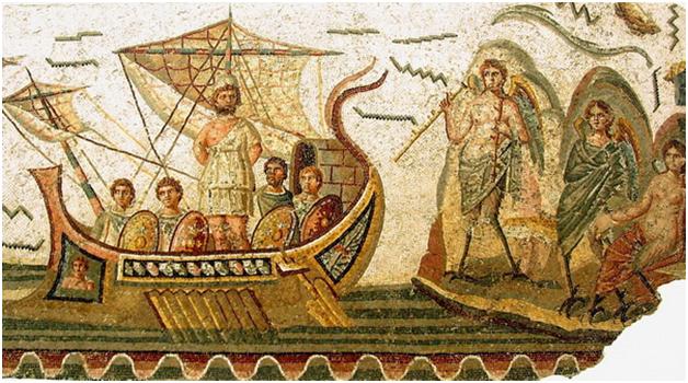 Tranh cổ theo phong cách mosaic