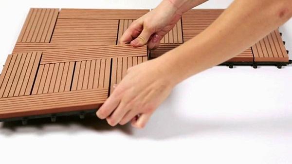 Quy trình lắp đặt và thi công sàn giả gỗ khá đơn giản, dễ thực hiện