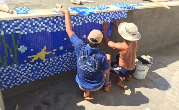 Hướng dẫn kỹ thuật ốp gạch mosaic đúng cách