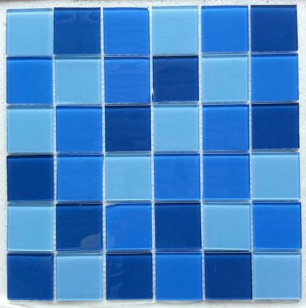 Gạch Mosaic đa được dán thành từng vỉ