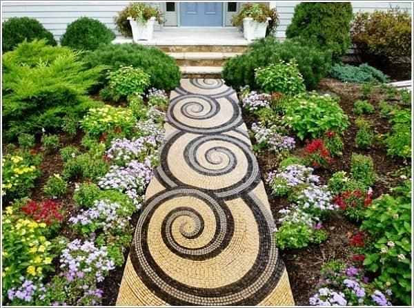 Gạch mosaic cảm hứng cho không gian độc đáo