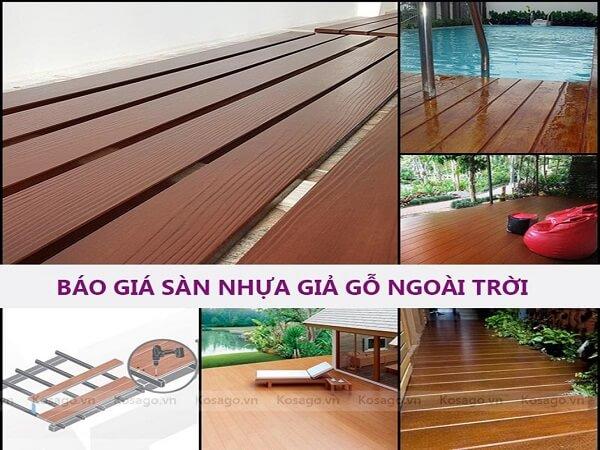 kosago - tổng kho sàn nhựa giả gỗ tại đà nẵng