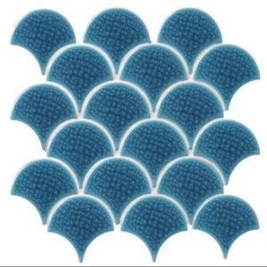 kích thước gạch mosaic vảy cá