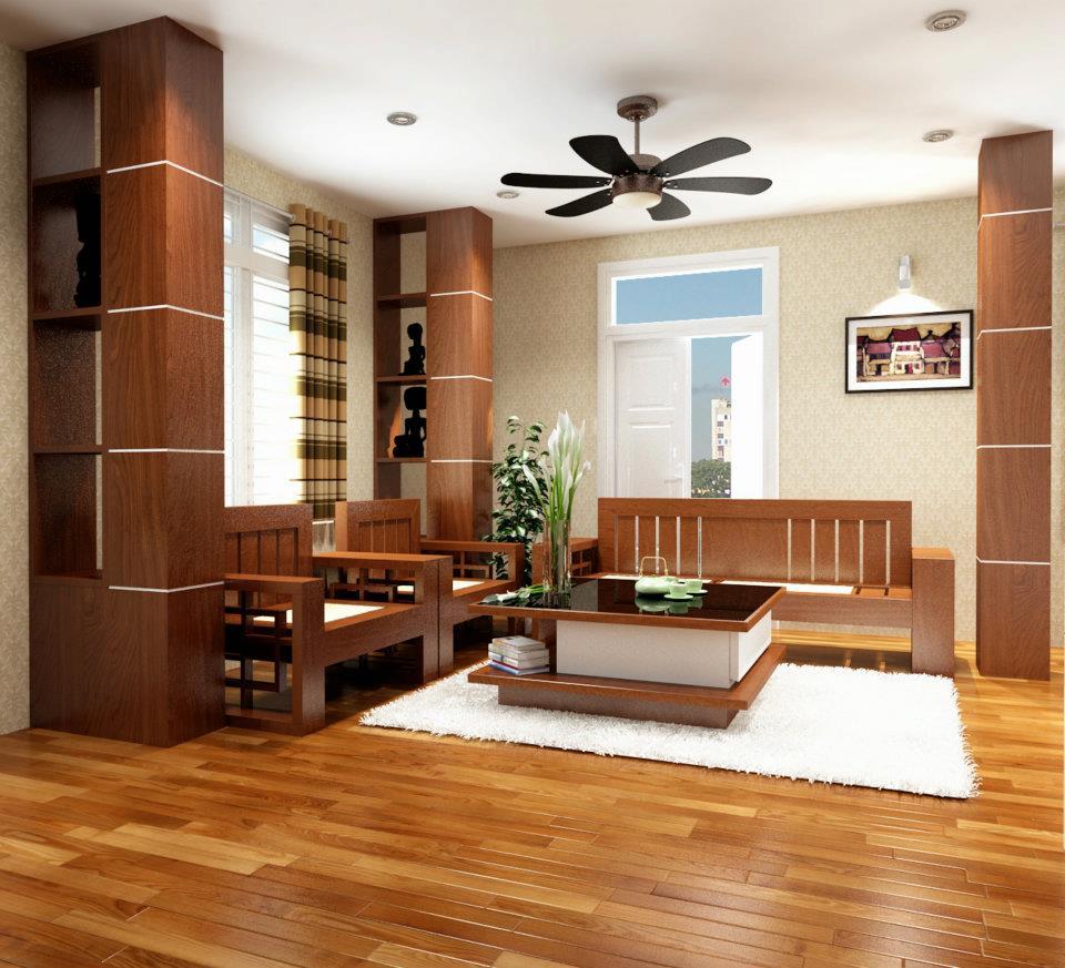 Nên ốp lát sàn nhựa giả gỗ màu gì cho nhà đẹp