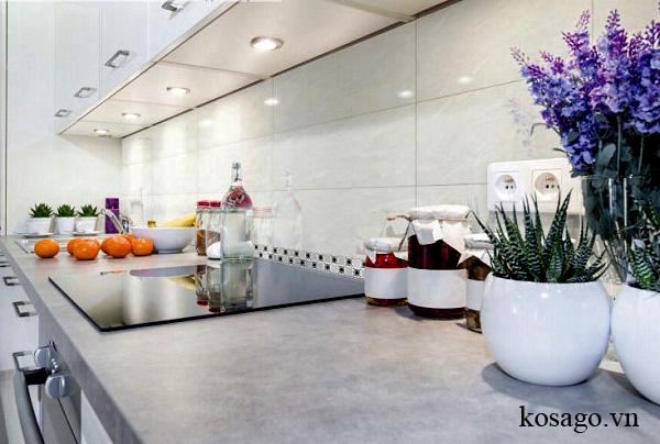 Những mẫu gạch ốp tường phòng bếp đẹp nhất 2017