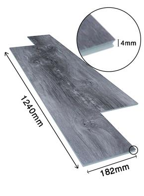 Sàn nhựa giả gỗ trong nhà SPC 17322