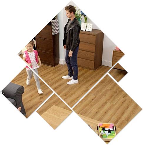 Sàn nhựa giả gỗ trong nhà SPC 8172 - 1