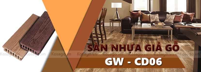Sàn nhựa giả gỗ GW–CD06