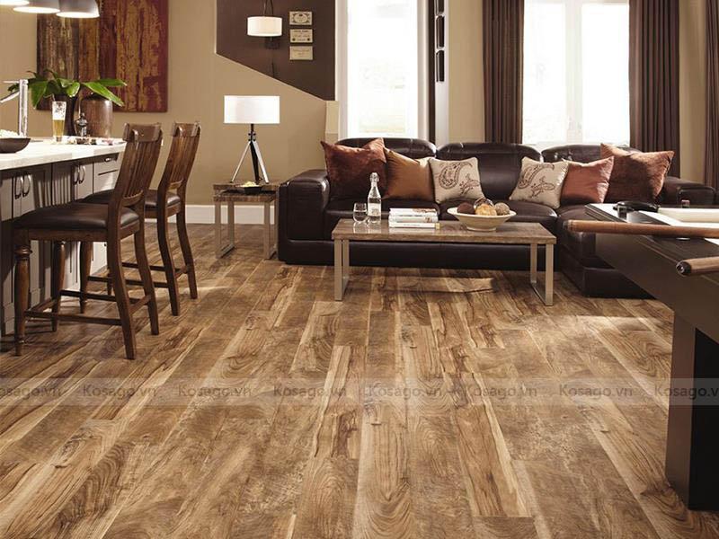 4 - Ứng dụng sàn nhựa giả gỗ GW–CD06