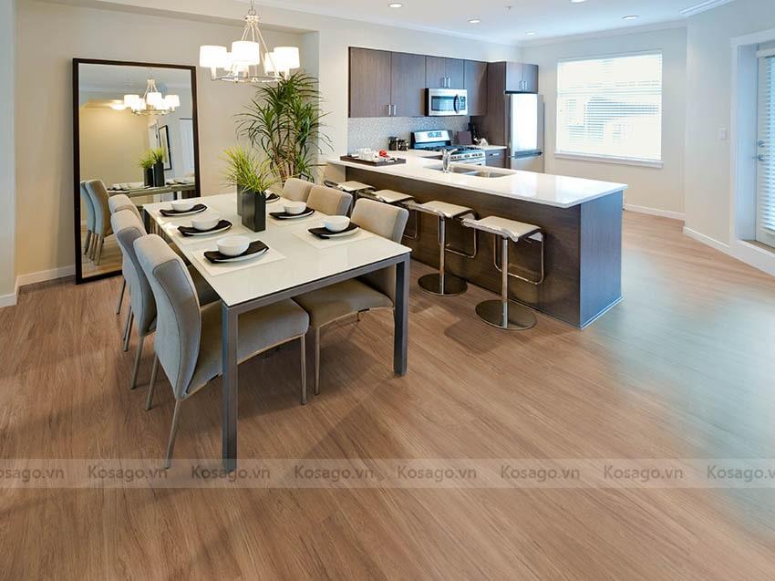 2 - Ứng dụng sàn nhựa giả gỗ GW–CD06