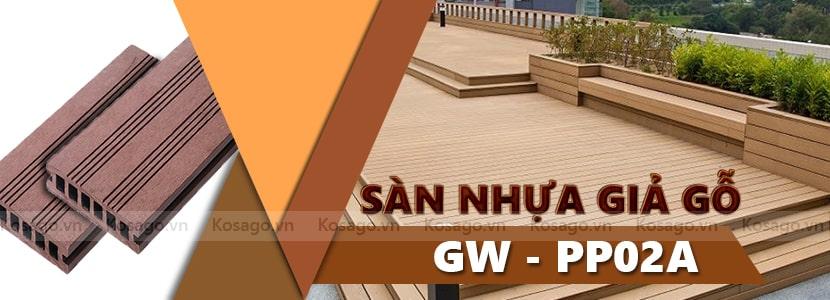 Sàn nhựa giả gỗ GW – PP02A