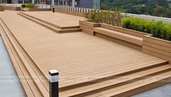 Ứng dụng sàn nhựa giả gỗ GW – PP02A