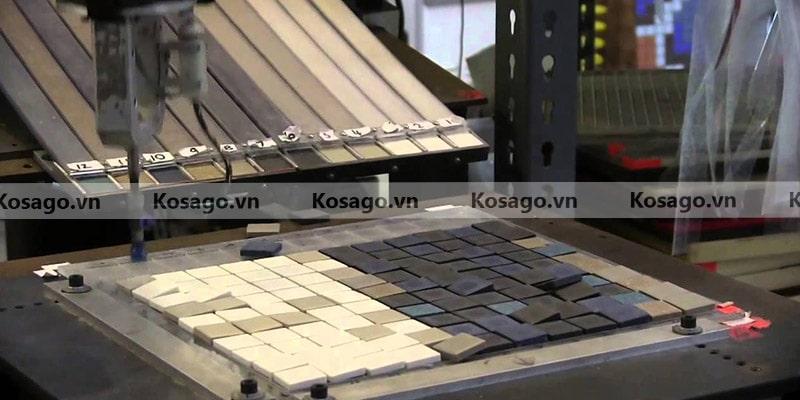 Xưởng sản xuất gạch mosaic BV003