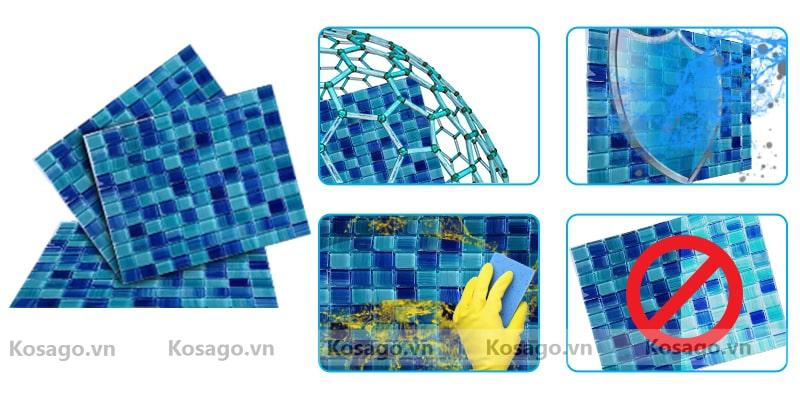 Đặc điểm gạch mosaic BV003