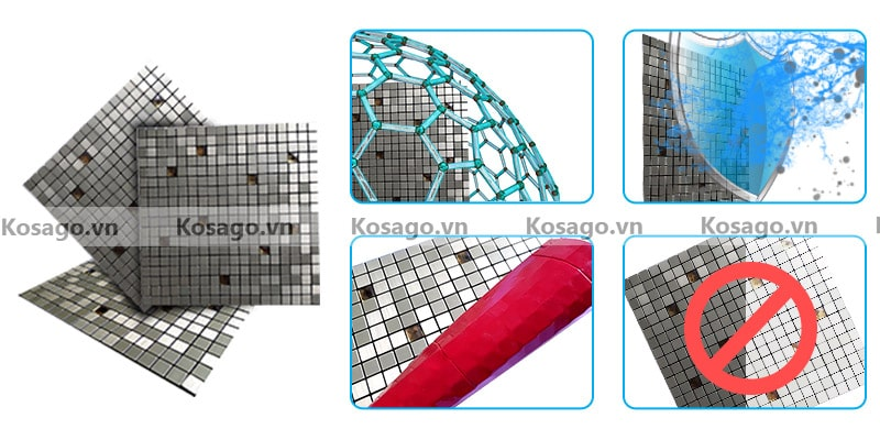 Đặc điểm nổi bật của mẫu gạch mosaic BV011