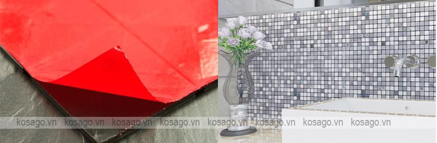 Hướng dẫn ốp lát gạch mosaic trang trí BV011