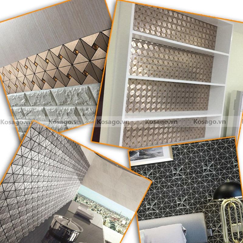 Ứng dụnggạch mosaic BV012