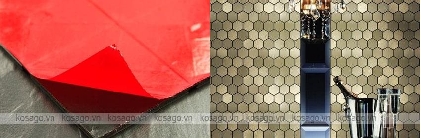 Hướng dẫn ốp lát gạch mosaic trang trí BV013