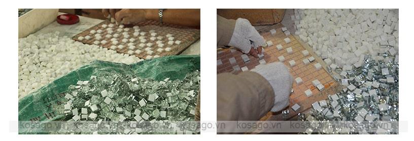 Xưởng sản xuất gạch mosaic - 1
