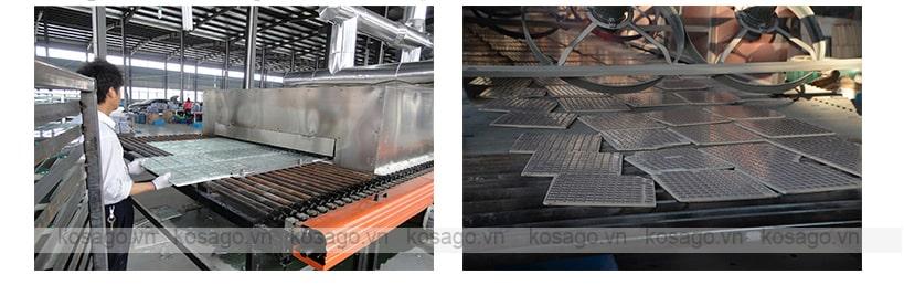 Dây truyền sản xuất gạch mosaic BV004