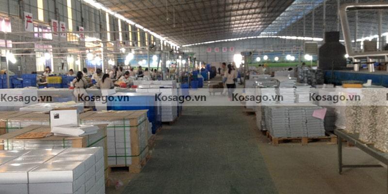 Xưởng sản xuất gạch mosaic