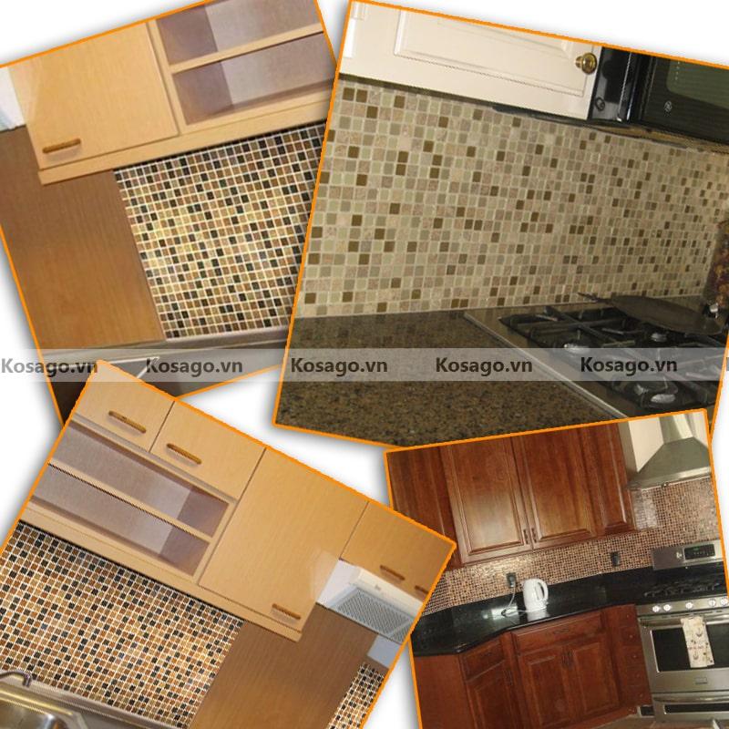 Ứng dụnggạch mosaic BV015