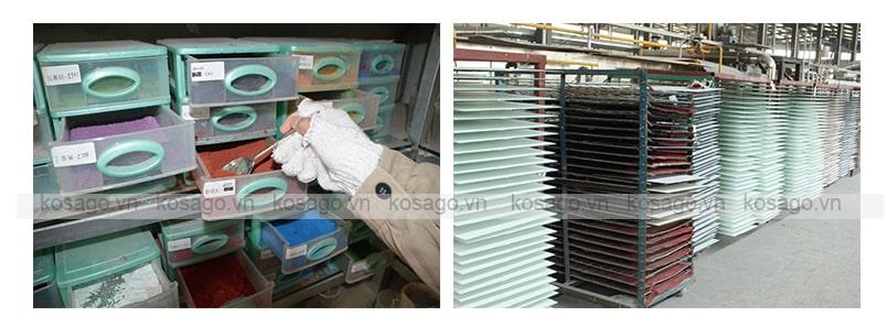 Sản xuất gạch mosaic trang trí BV020