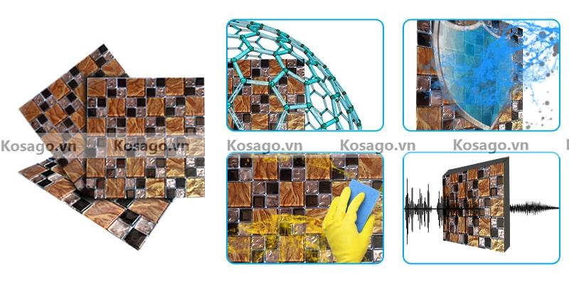 Đặc điểm gạch mosaic BV021