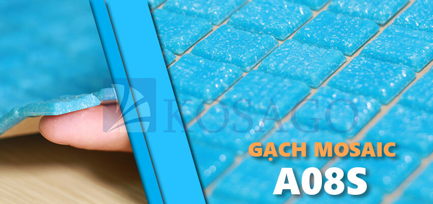 gạch mosaic thủy tinh A08S