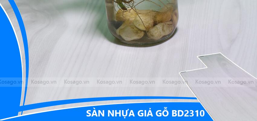 Sàn nhựa giả gỗ trong nhà BD2310