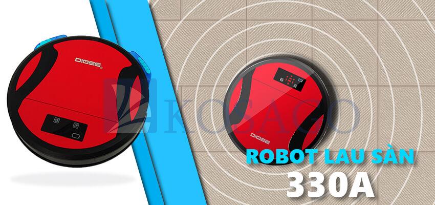 Robot hút bụi lau sàn nhà 330A