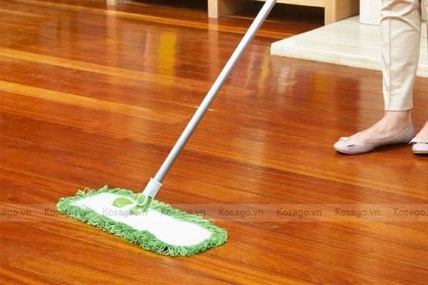 Cách xử lý sàn bị nấm