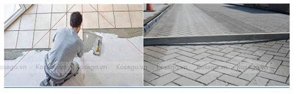 Kỹ thuật lát nền chéo gạch