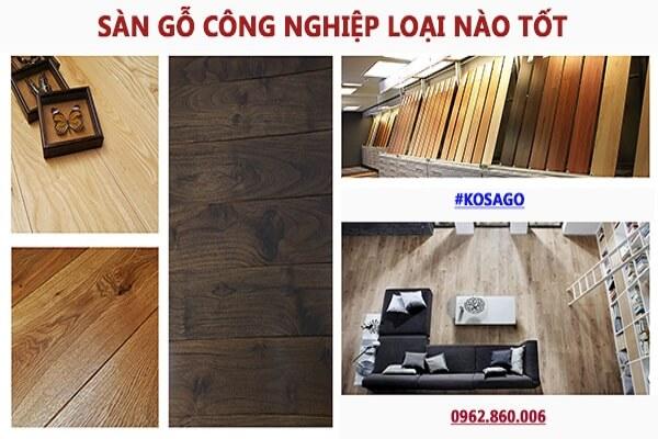Sàn gỗ công nghiệp loại nào tốt nhất?