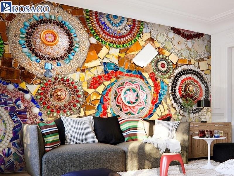 Gạch mosaic cho phòng ngủ