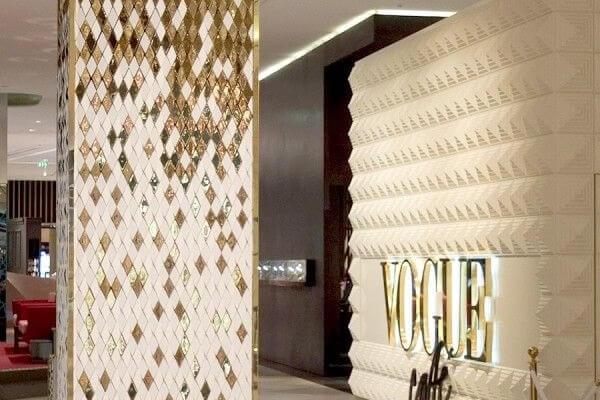 Gạch ốp cột nhà - Giải pháp trang trí cho không gian ấn tượng