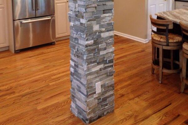 Mẫu gạch cho cột vuông