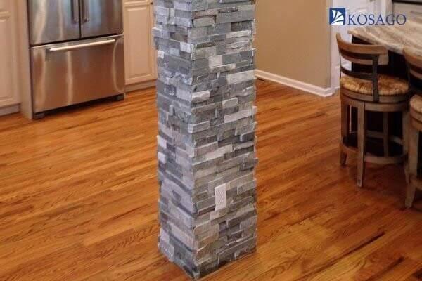 tiêu chuẩn lựa chọn gạch ốp cột nhà theo vật liệu