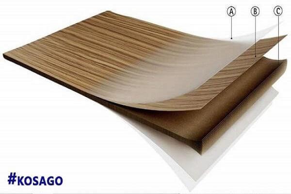 Ván, sàn gỗ melamine