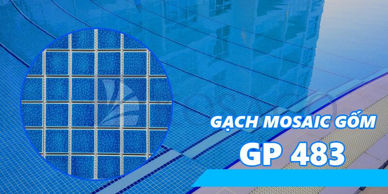 Gạch mosaic gốm GP 483