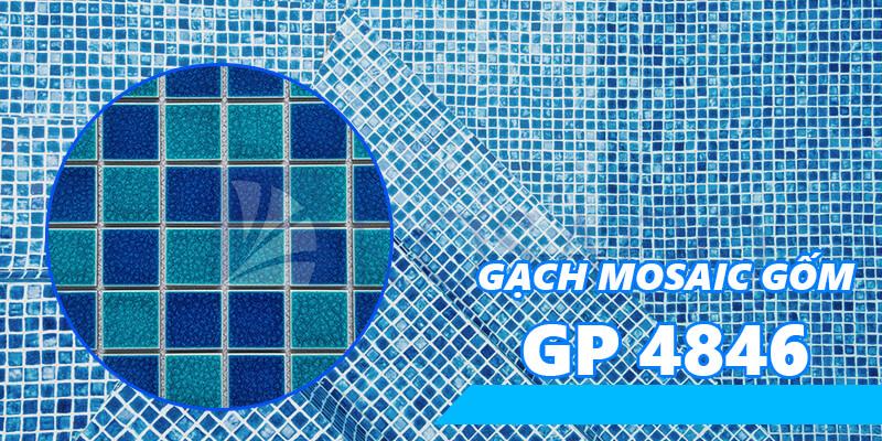 Gạch mosaic gốm GP 4846