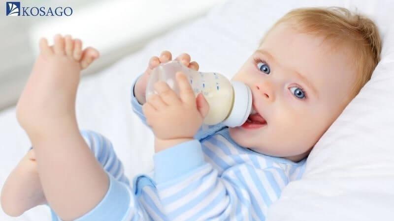 ứng dụng nhựa pp làm bình đựng sữa trẻ em