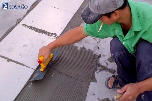 gạch chống thấm sân thượng