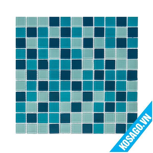 Gạch Mosaic xanh dương