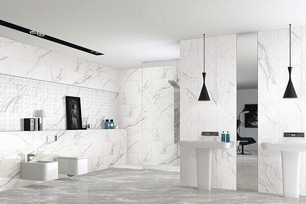 Các mẫu gạch ốp lát nhà vệ sinh toilet đẹp