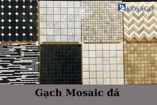 phân loại gạch mosaic đá