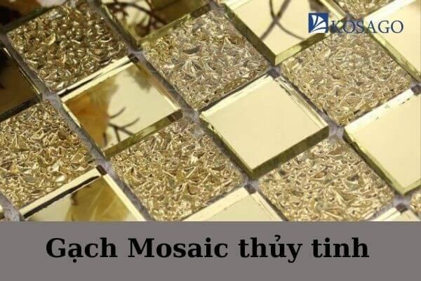 phân loại gạch mosaic kính thủy tinh