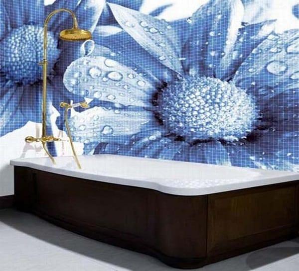 Gạch mosaic thủy tinh và những ưu, nhược điểm